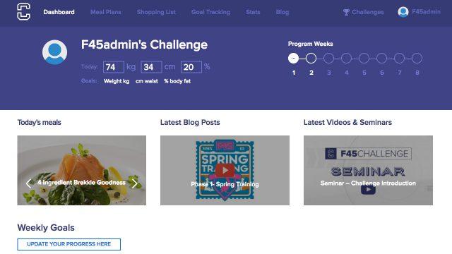 Challenge Dashboard
